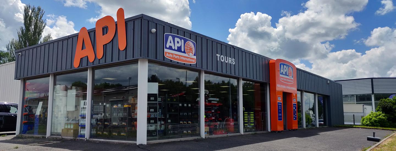 Magasin API Tours